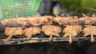 Chicken grill video