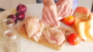 chicken meat video