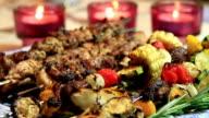 BBQ Chicken Shish Kebab Ready-to-Eat video