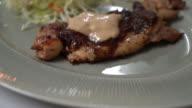 chicken steak video