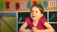 Child answering question video