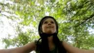 Child cycling video