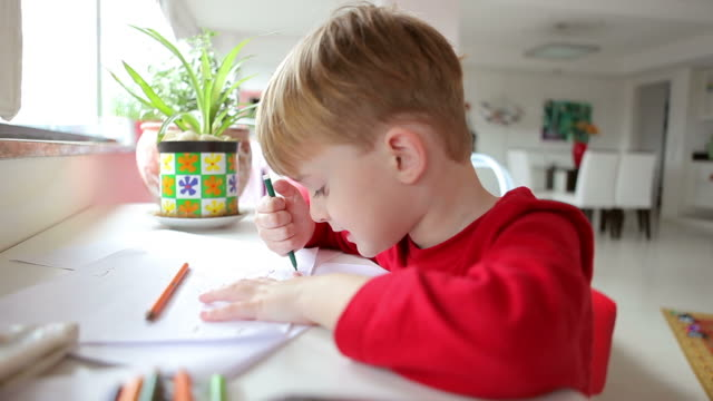Child Drawing video
