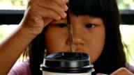 child drinking video