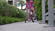 (HD1080i) Child Falls off Bike video