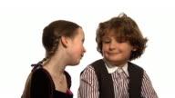 Child kiss video