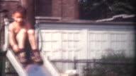 Child on Slide 1959 video