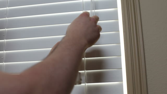 Childproofing window blind cords video