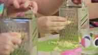 Children cook video