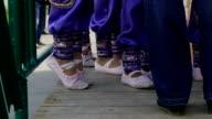 children dancers legs slow motion video video