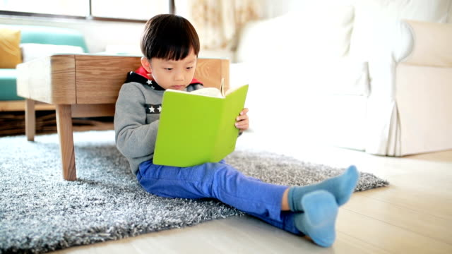 Children do homework at home video