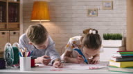 Children Drawing with 3d Printing Pen video