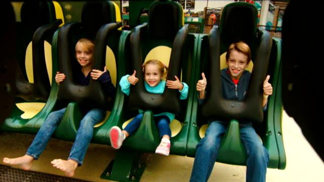 Children on Ride - HD video