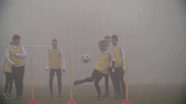 HD: Children Playing Soccer. video
