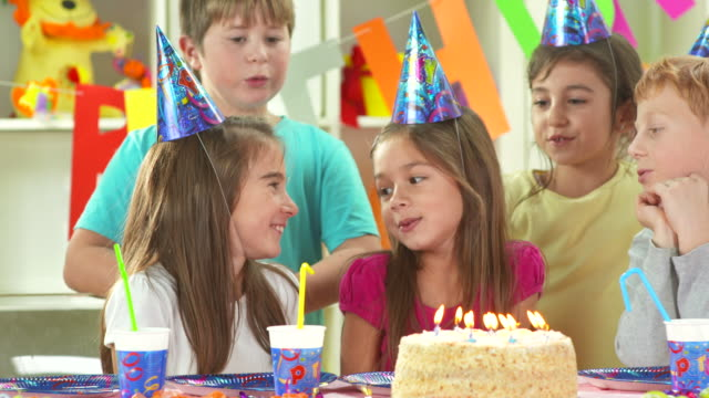 HD DOLLY: Children Singing The Happy Birthday Song video