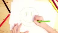 Children's drawings video