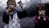 Children's loneliness. Abandoned. Orphans in slums. video