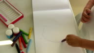 Child's Drawing video