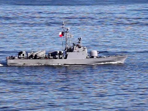 Chilean Frigate video