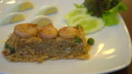 chilli paste fried rice with prawn video