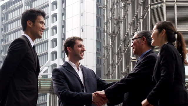 China Hong Kong Business Travel Deal People video