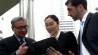 China Hong Kong Business Travel People video