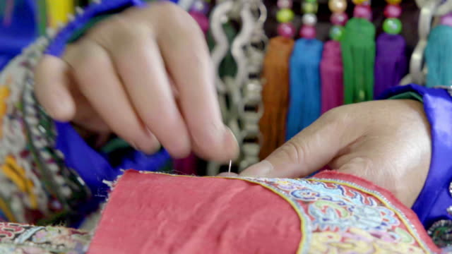 China National Traditional embroidery video