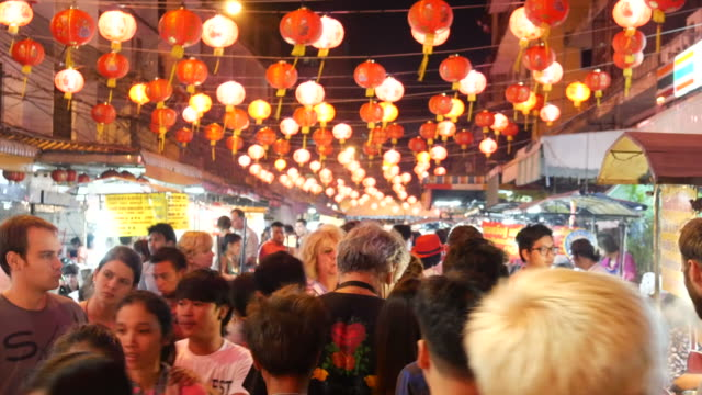 China Town during Lunar New Year video