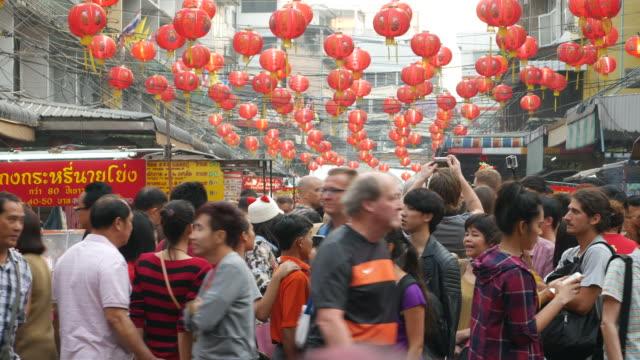 China Town in Bangkok video