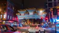 Chinatown Friendship Gate in Washington DC video