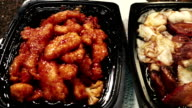 Chinese Delivery Food, 3 Dishes video
