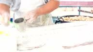 chinese dough stick video