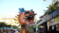 Chinese dragon parade video