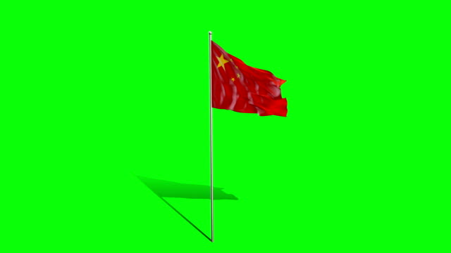 chinese   flag video