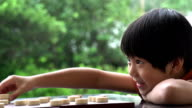 Chinese Kid Playing Slow Motion video