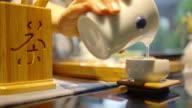 Chinese kungfu tea video