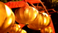 Chinese lanterns is  Chinese New Year,The lamp of Chinese New Year video