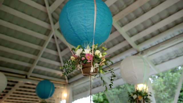 Chinese Paper Lantern at a party video