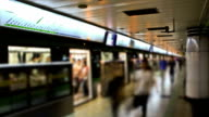 Chinese Subway Station video