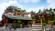 Chinese Temple in Thailand video