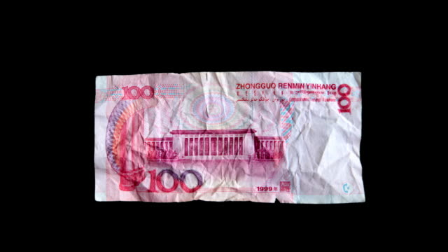 Chinese Yuan - money video