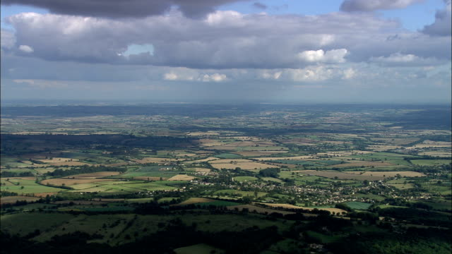 Chipping Campden  - Aerial View - England, Gloucestershire, Cotswold District, United Kingdom video