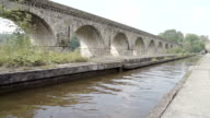 Chirk Aqueduct On The Llangollen Canal video