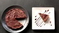 Chocolate Cheese cake Raw video