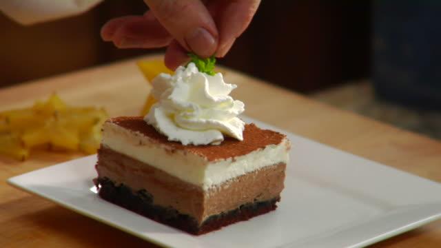 HD Chocolate Creme Cake video