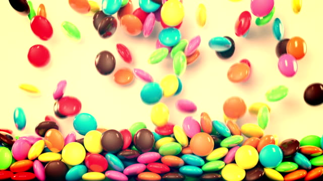 chocolate falling video