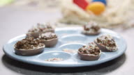 Chocolate Stuffed Eggs 4K video