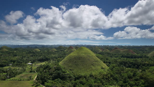 Chocoloate Hills, Bohol, Philippines video