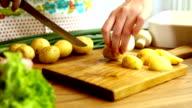 chopped potatoe video