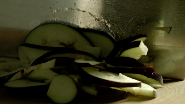 Chopping Eggplant video